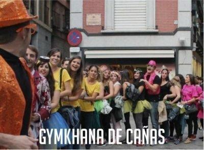 Gymkhana de cañas en Toledo