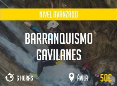 Barranquismo Gavilanes Avila Nivel Avanzado  Paradise Events