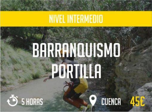 Barranquismo Portilla Cuenca Nivel Intermedio Paradise Events