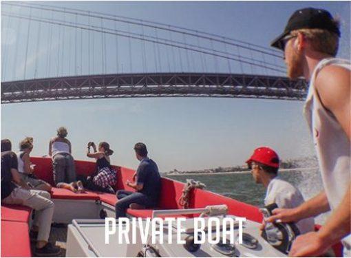 Private Boat Lisbon Paradise Events Principal
