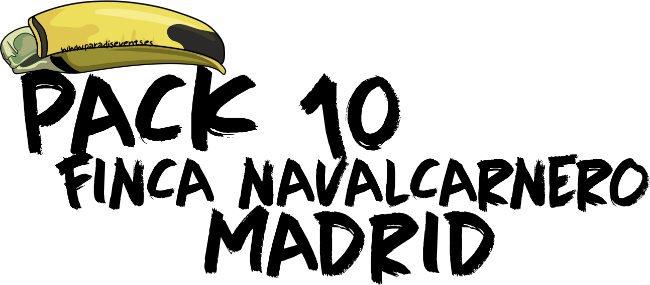 Sticker Pack FN 10 Despedida de Soltera y Soltero Madrid Finca Navalcarnero Madrid