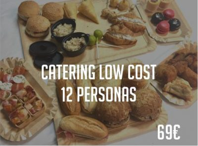 Catering Low Cost para 12 personas Paradise Events Madrid