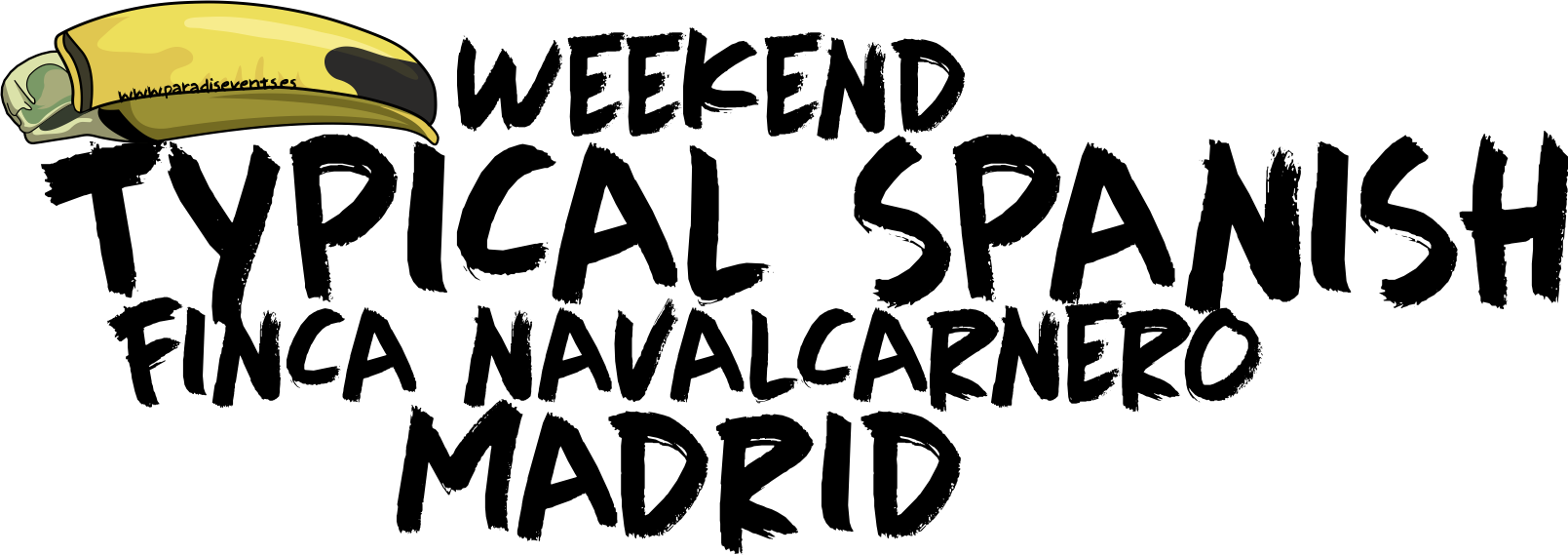 Sticker Pack FN Typical Spanish Weekend Despedida de Soltera y Soltero Madrid Finca Navalcarnero Madrid