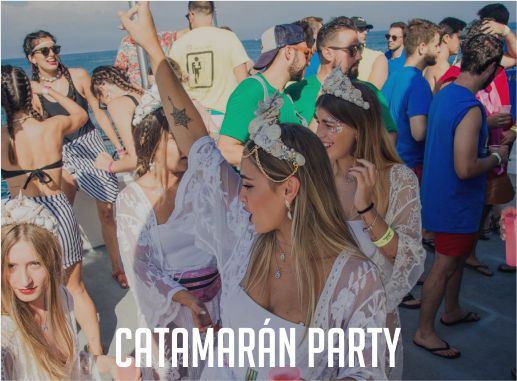 Catamaran Party Despedida de Soltera y Soltero Playa Gandía Valencia