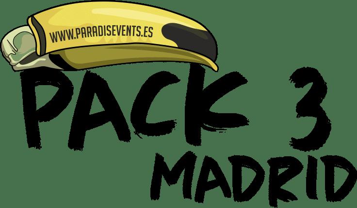 Sticker Pack 3 Paradise Events Despedida de Soltera y Soltero Madrid Madrid Centro