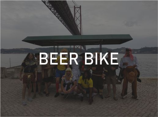 Beer Bike · Bici Birra Lisboa Paradise Events Despedida de Soltera y Soltero · Bachelor Party Lisbon