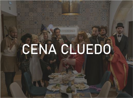 Cena Cluedo Escape Lisboa Paradise Events Despedida de Soltera y Soltero · Bachelor Party Lisbon