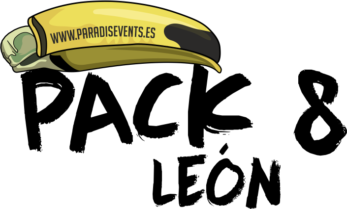 Sticker Pack 8 Paradise Events Despedida de Soltera y Soltero Leon