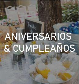 Catering cumpleaños en Madrid Paradise Events