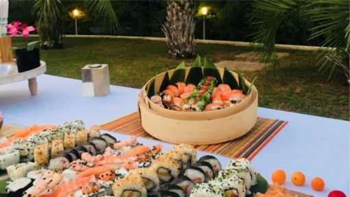 Catering para empresas en Madrid Amantes del Sushi Paradise Events
