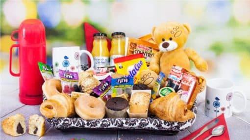 Desayuno a Domicilio Infantil para Cumpleanos Paradise Events