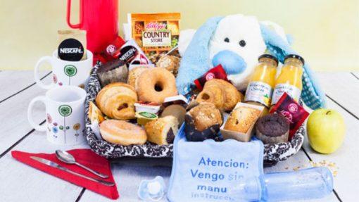 Desayuno a Domicilio para Recién Nacidos Paradise Events
