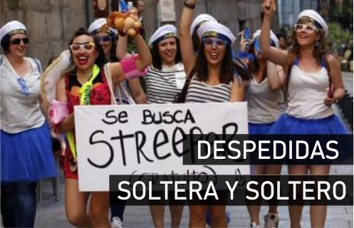 Despedida de Soltera y Soltero en Madrid Salamanca Lisboa Malaga Gandia Paradise Events