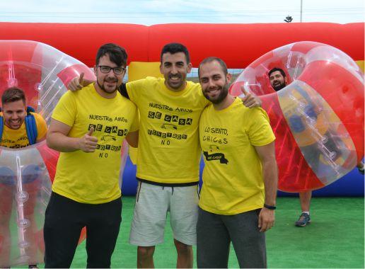Fútbol Burbuja en Salamanca Despedida Soltera y Soltero Paradise Events 2