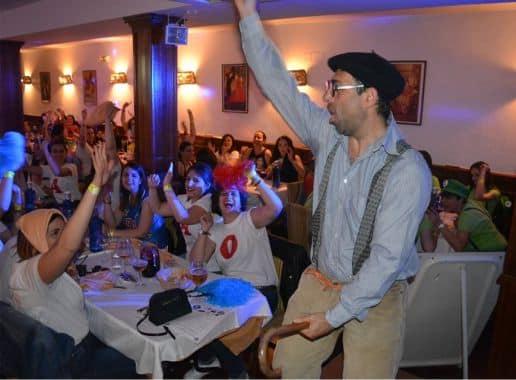 Restaurante Furor Cena Espectaculo en Toledo Despedida de Soltera y Soltero Paradise Events 2