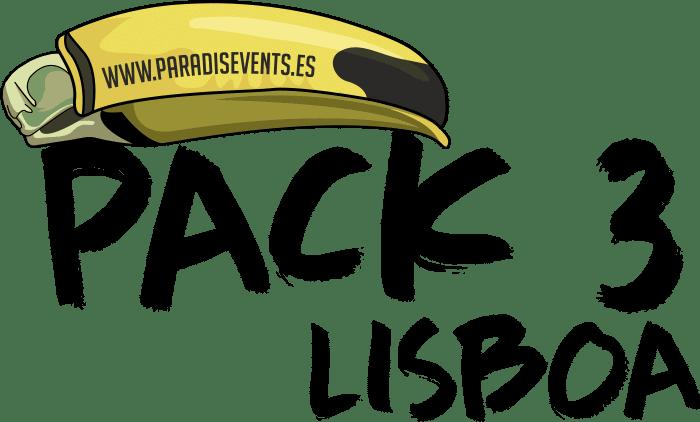 Sticker Pack 3 Paradise Events Despedida de Soltera y Soltero Finca Lisboa