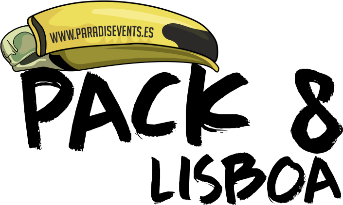 Sticker Pack 8 Paradise Events Despedida de Soltera y Soltero Lisboa