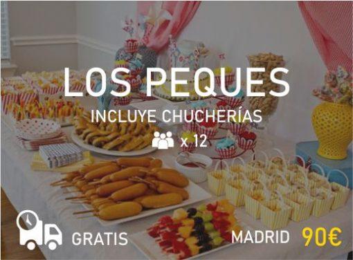 Catering Niños en Madrid