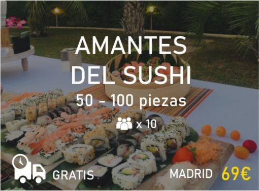 Catering Sushi en Madrid