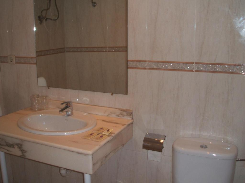 Hostal Centro baño