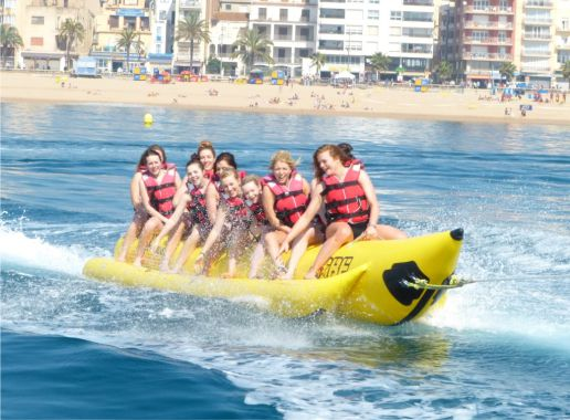 Banana Acuatica en Malaga Despedida Soltera y Soltero en Benalmadena Paradise Events 2