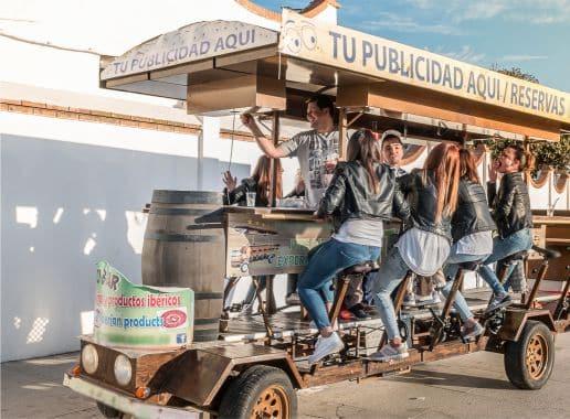 Beer Bike en Malaga Despedida Soltera y Soltero en Benalmadena Paradise Events 2