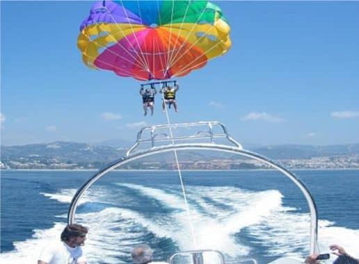 Parasaling en Malaga Despedida Soltera y Soltero en Benalmadena Paradise Events 2