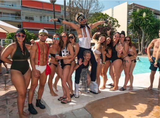 Pool Party en Malaga Despedida Soltera y Soltero en Benalmadena Paradise Events 2