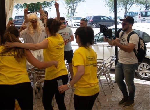 Sesion de Fotos Exterior en Madrid Despedida Soltera y Soltero en Finca Navalcarnero Paradise Events 2