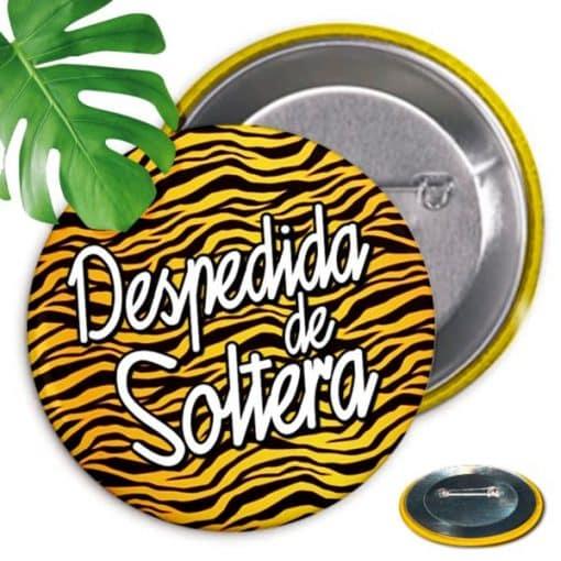 10 Chapas Despedida Soltera Leopardo Rayas Paradise Events