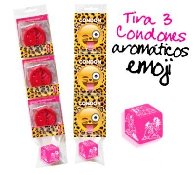 3 Condones Aromaticos Despedida de Soltera Leopardo Paradise Events