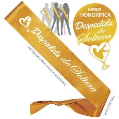 Banda Honorifica Despedida Soltera Dorada Paradise Events 1