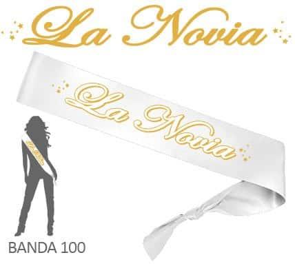 Banda La Novia Despedida Soltera Dorada y Blanca Paradise Events 1