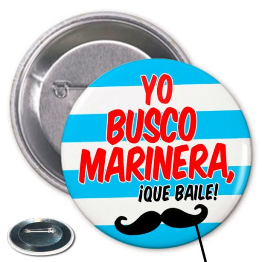 Chapa Despedida Busco Marinera Paradise Events