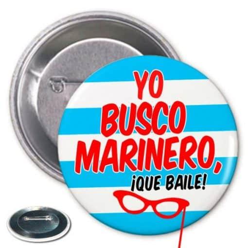 Chapa Despedida Busco Marinero Paradise Events