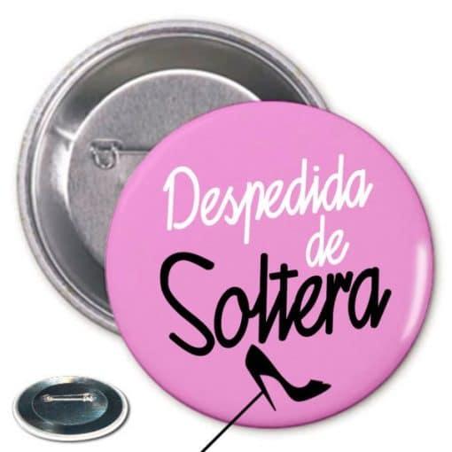 Chapa Despedida Soltera Rosa Paradise Events