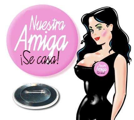 Chapa Nuestra Amiga se Casa Despedida Soltera Rosa Paradise Events