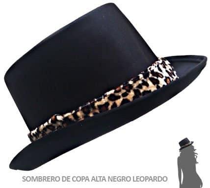 Sombrero Despedida Soltera Leopardo Paradise Events