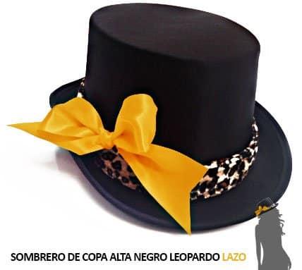 Sombrero Lazo Dorado Despedida Soltera Leopardo Paradise Events