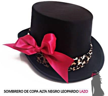 Sombrero Lazo Rosa Despedida Soltera Leopardo Paradise Events