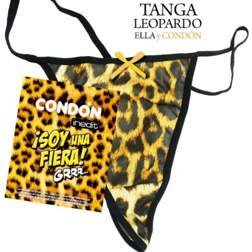 Tanga Leopardo y Condon Lazo Dorado Despedida Soltera Paradise Events 1