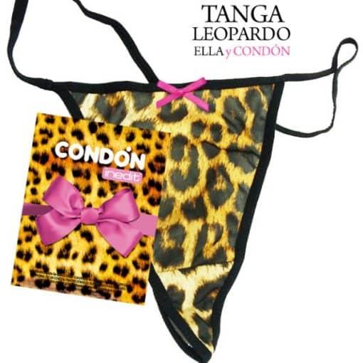 Tanga Leopardo y Condon Lazo Dorado Despedida Soltera Paradise Events