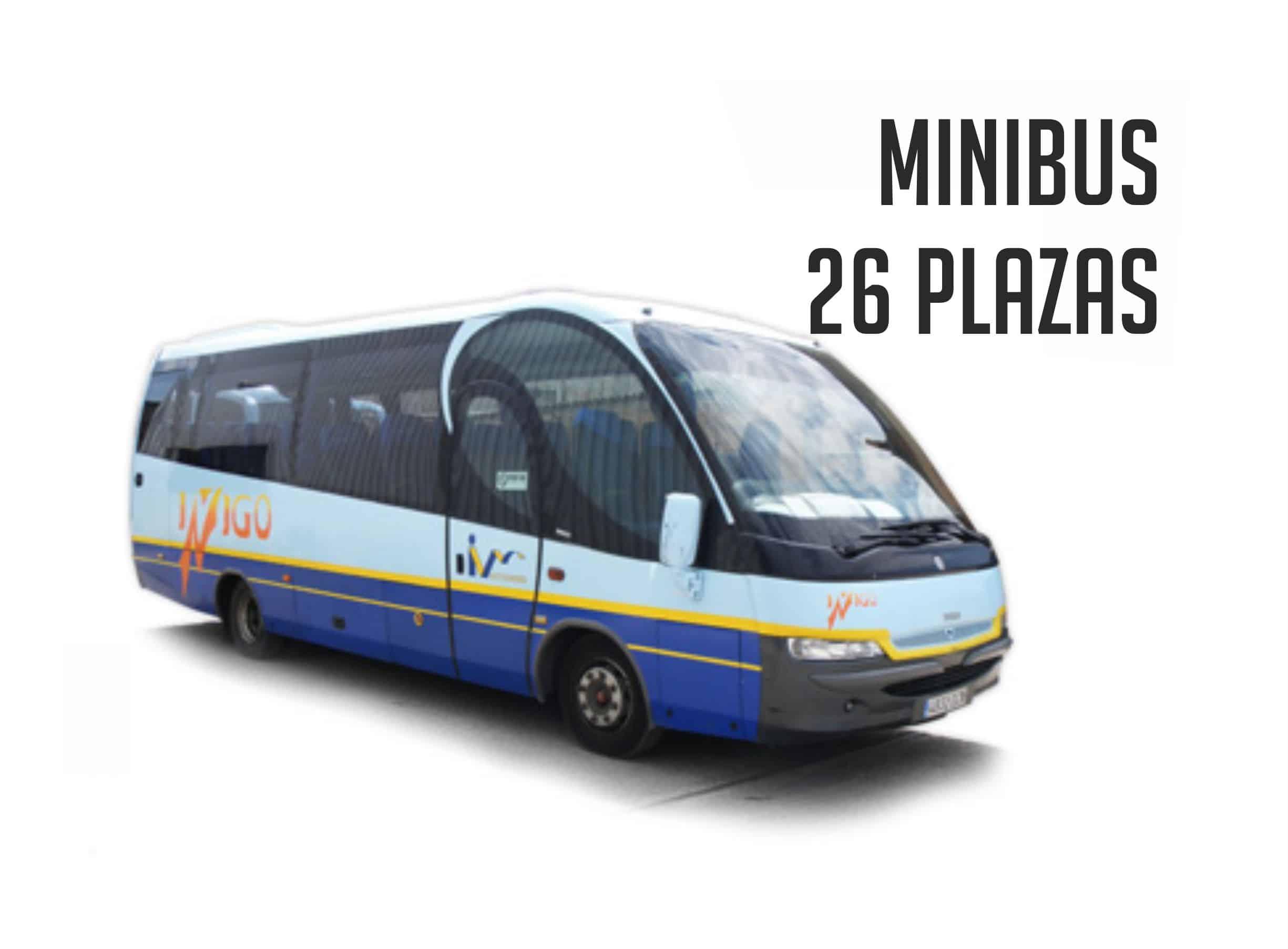 Autobus para despedida en Madrid 26 plazas Paradise Events
