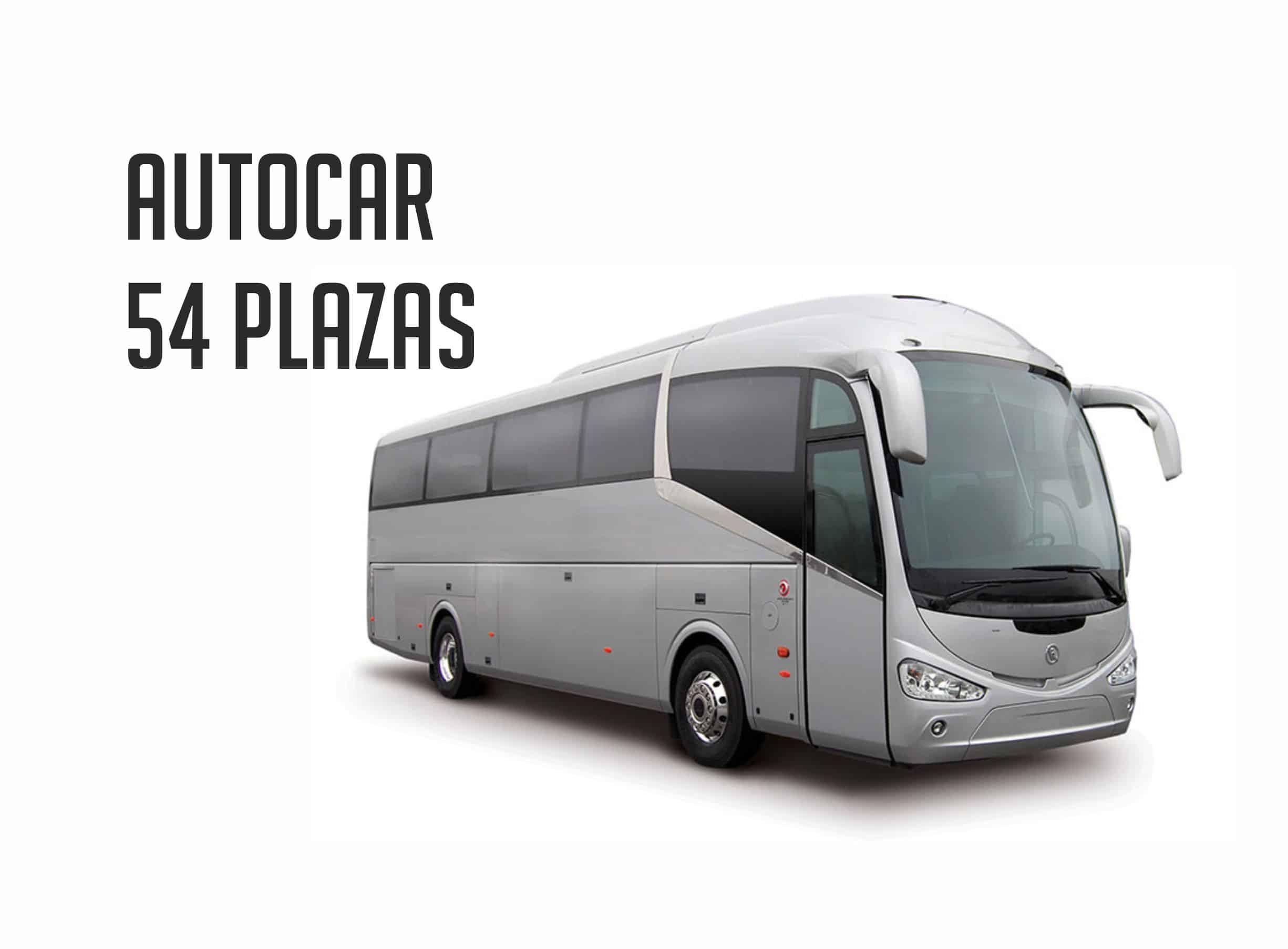 Autobus para despedida en Madrid 54 plazas Paradise Events