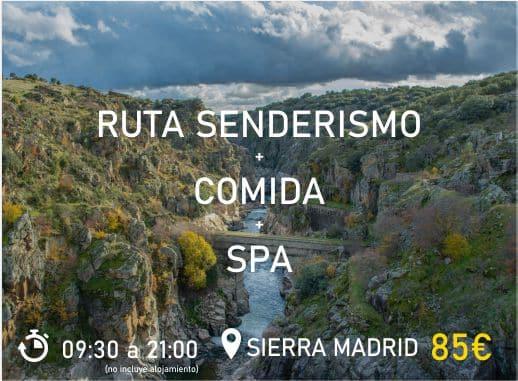 Pack 1 Sierra Madrid Despedida de Soltera y Soltero Paradise Events